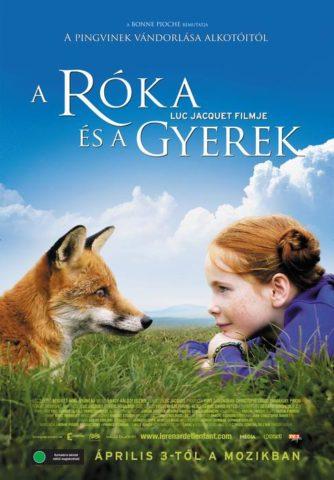 A róka és a gyerek, mozi poszter