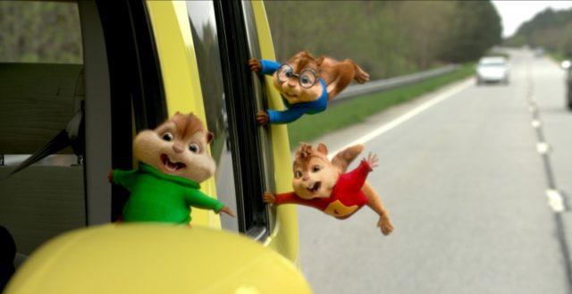 Alvin és a mókusok: A mókás menet (Alvin and the Chipmunks: The Road Chip) 2015