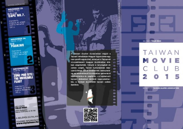 Taiwan Movie Club: november 23-25. Toldi mozi