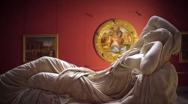 Firenze és az Uffizi képtár 3D