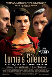 Lorna csendje, mozi poszter