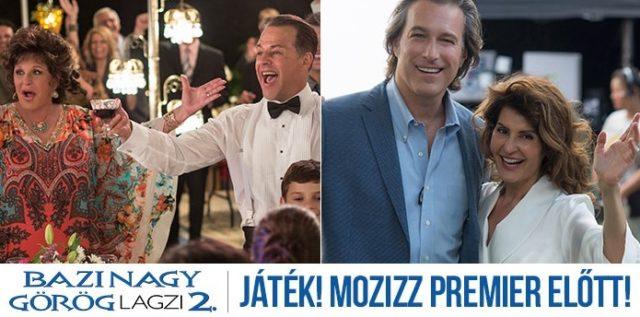 Bazi nagy görög lagzi 2. játék – Nézd meg premier előtt!