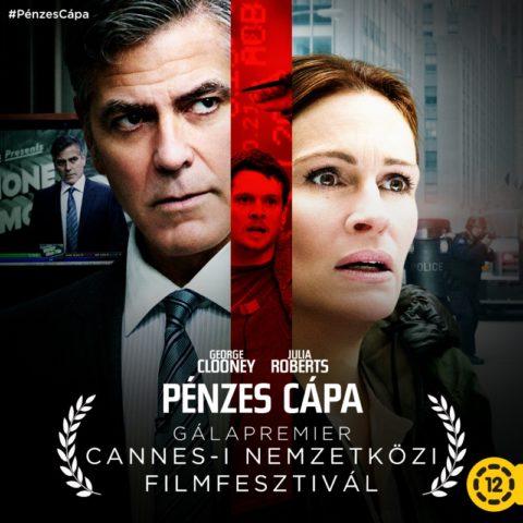 Jodie Foster új rendezése, a Pénzes cápa Cannes-ban