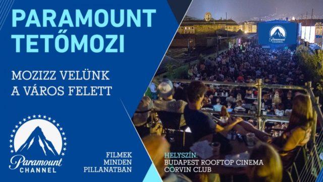 Július 5-én nyit a Paramount Tetőmozi