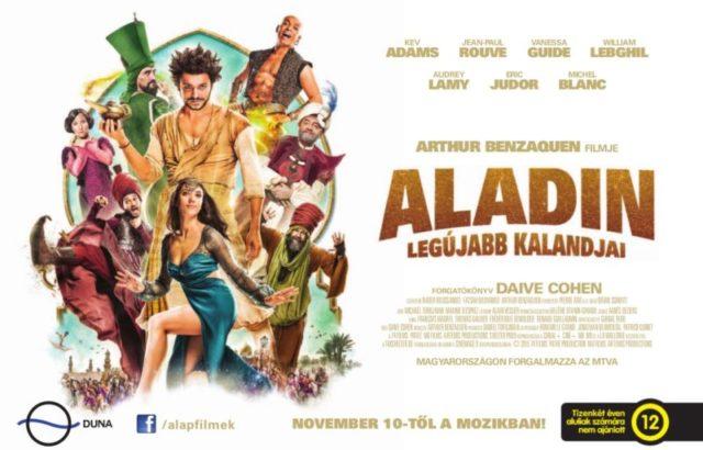 Aladin legújabb kalandjai (Les nouvelles aventures d'Aladin) 2015