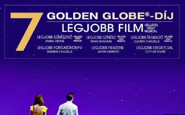 7 Golden Globe-díjat nyert a Kaliforniai álom