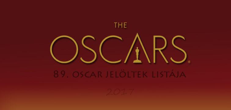Oscar 2017 jelöltek