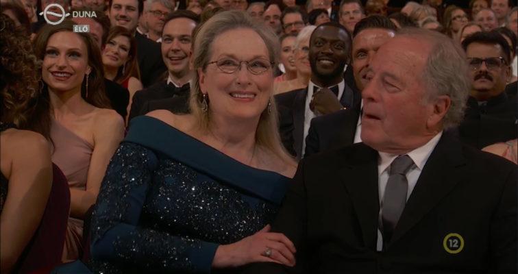 Meryl Streep az Oscar-gálán