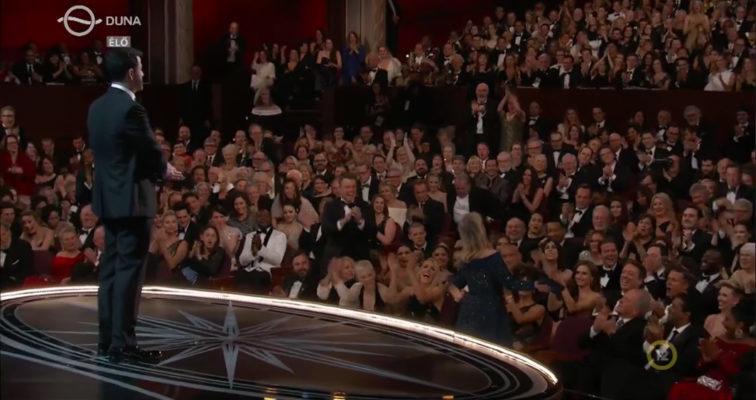 A 89. Oscar-gála közönsége