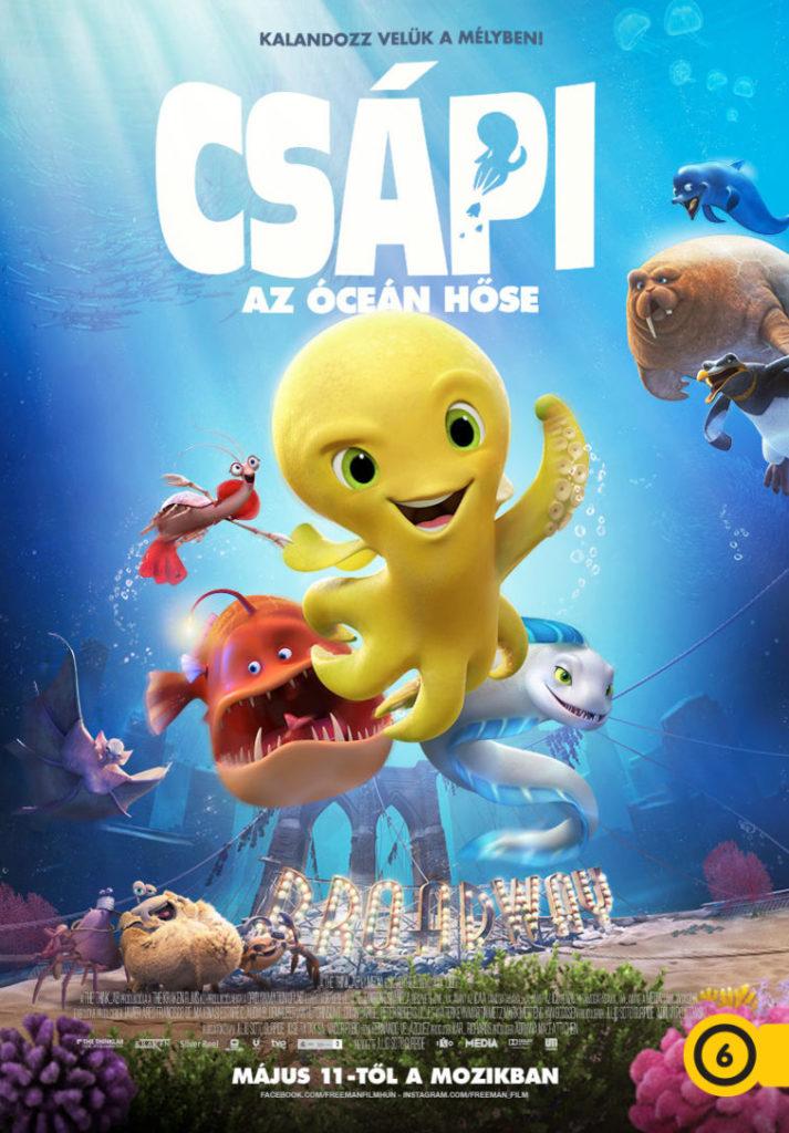 Csápi - Az óceán hőse