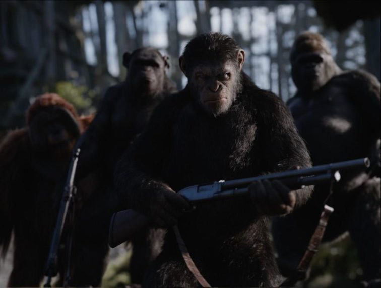 A majmok bolygója – Háború (War for the Planet of the Apes) 2017