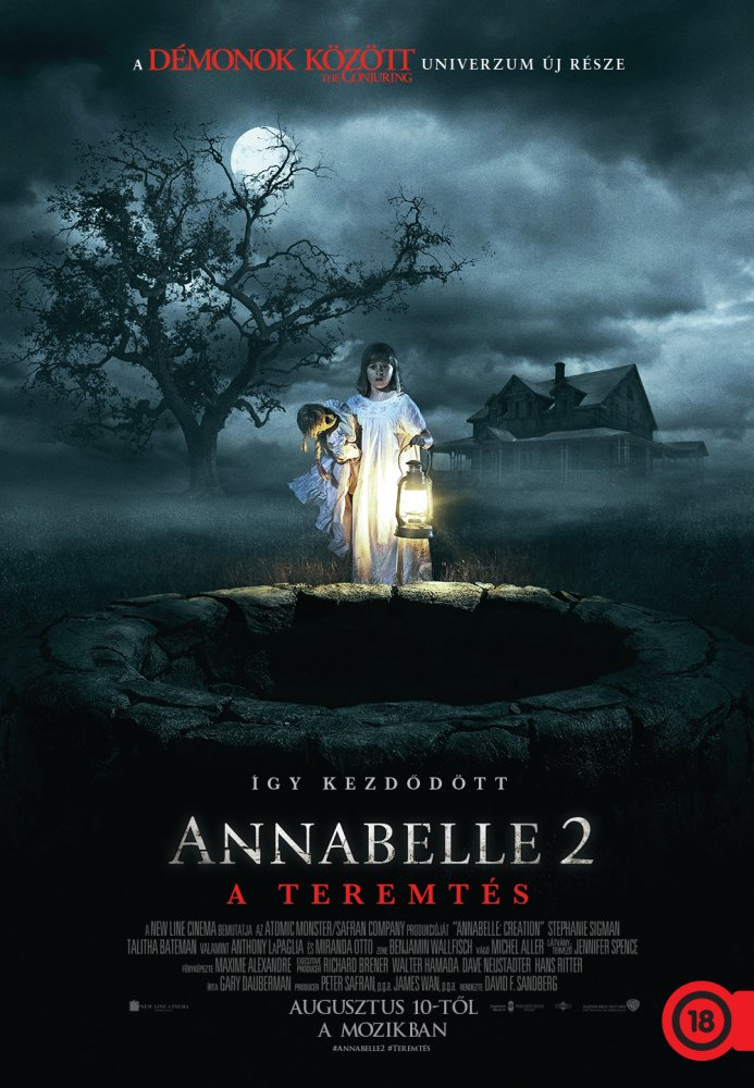 Annabelle 2. – A teremtés (Annabelle 2: The Creation) 2017