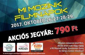 Mi Mozink Filmnapok!