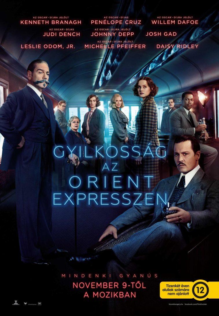 Gyilkosság az Orient Expresszen, poszter