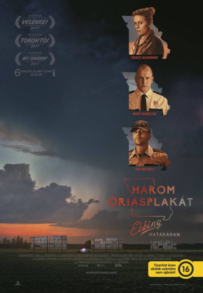 Három óriásplakát Ebbing határában (Three Billboards Outside Ebbing, Missouri) 2017