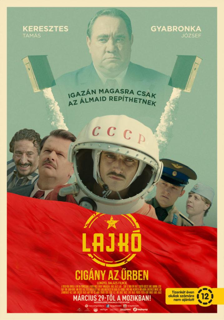 Elkészült a Lajkó – cigány az űrben című, új magyar fekete vígjáték plakátja!