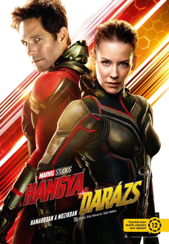 A Hangya és a Darázs (Ant-Man and The Wasp) 2018