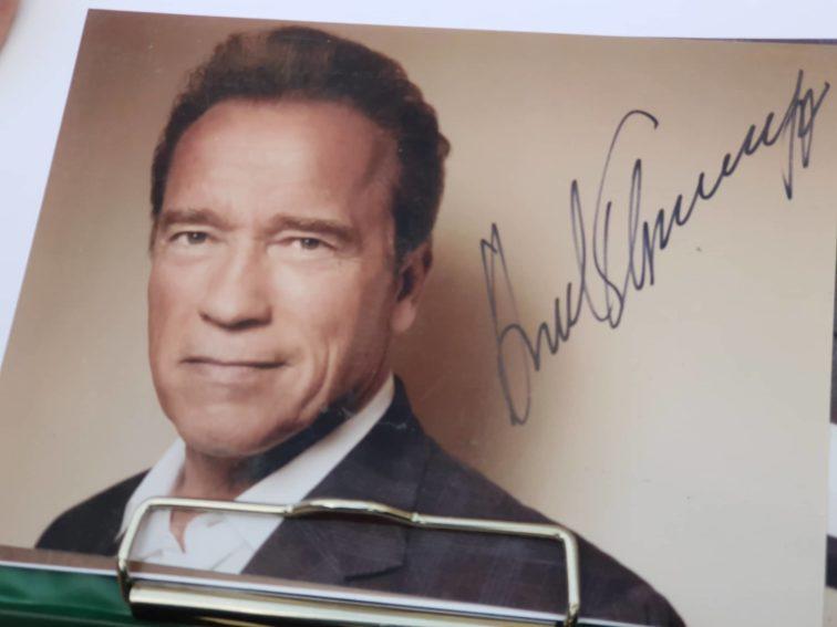 Arnold Schwarzenegger a Terminátor forgatása miatt tartózkodott idén hosszabb ideig Budapesten