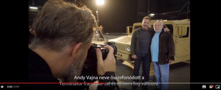 Új Terminátor kulisszái mögött videó