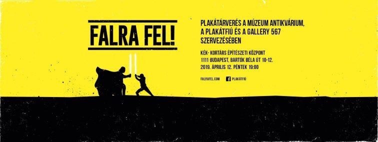 FALRA FEL! Plakátaukció 2.0