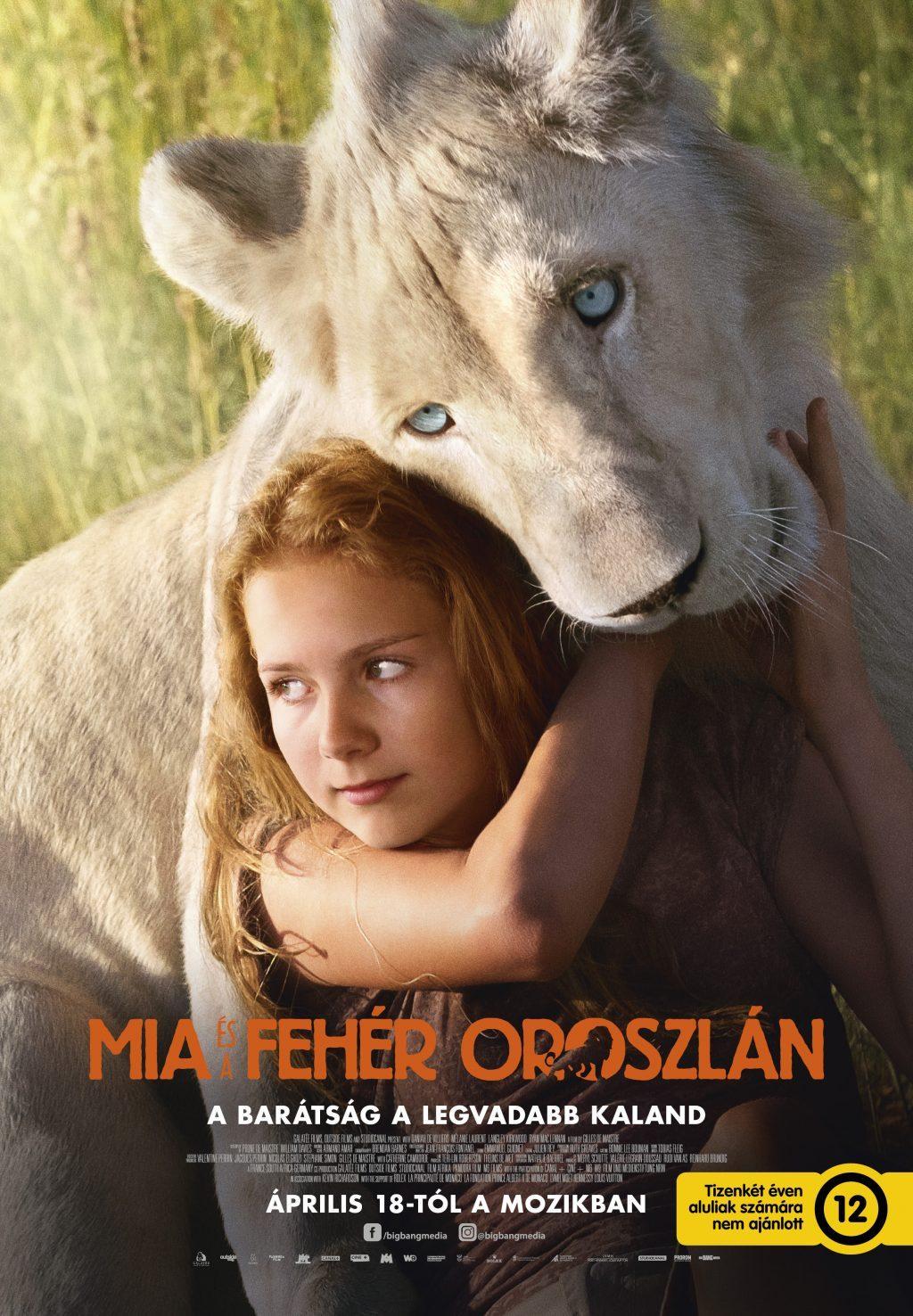 Mia és a fehér oroszlán (Mia and the White Lion) 2018