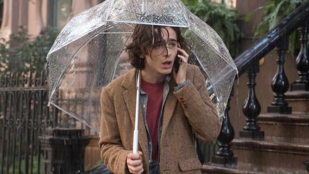 Egy esős nap New Yorkban
