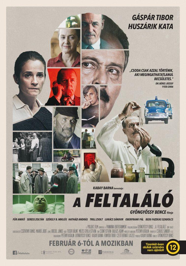 Elkészült A feltaláló c. film plakátja