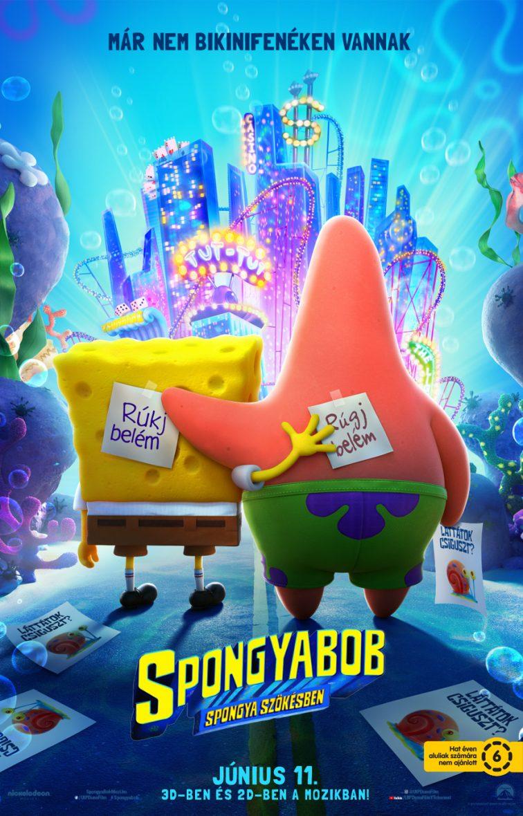 SpongyaBob: Spongya szökésben (The SpongeBob Movie: Sponge on the Run) 2020
