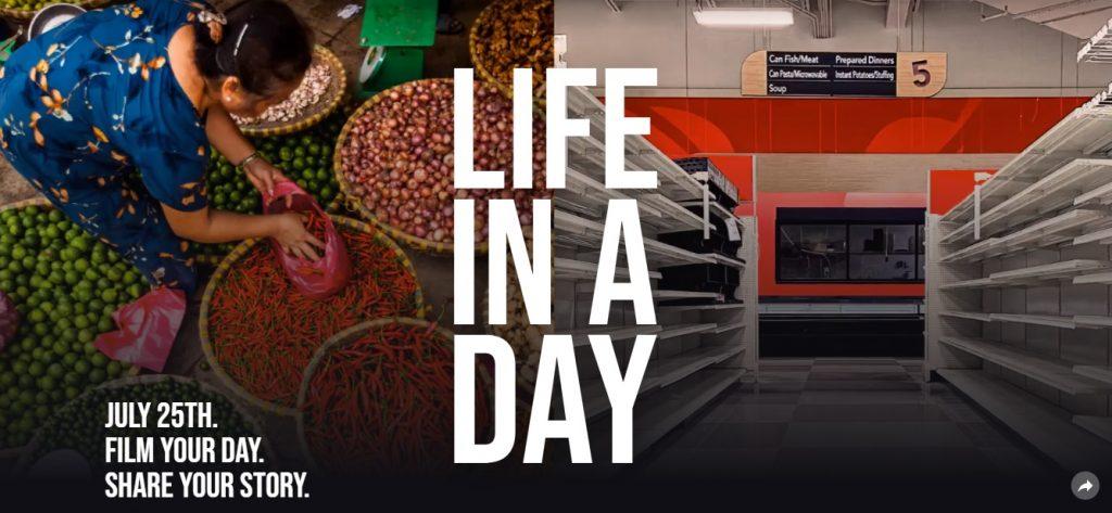 Ridley Scott és Kevin Macdonald a közönség videóit várja új Life in a Day dokumentumfilmjéhez