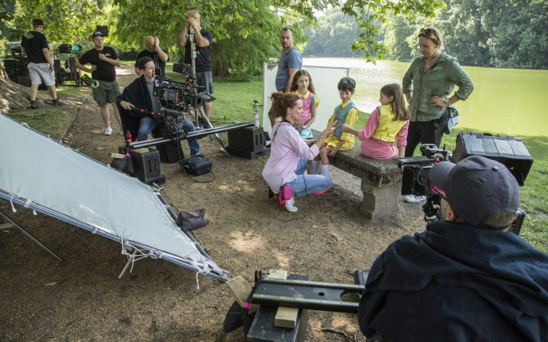 Így készül minden idők legizgalmasabb magyar családi filmje – El a kezekkel a papámtól!