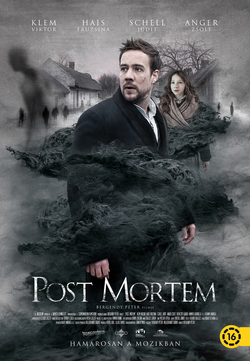 Post Mortem magyar film plakátja