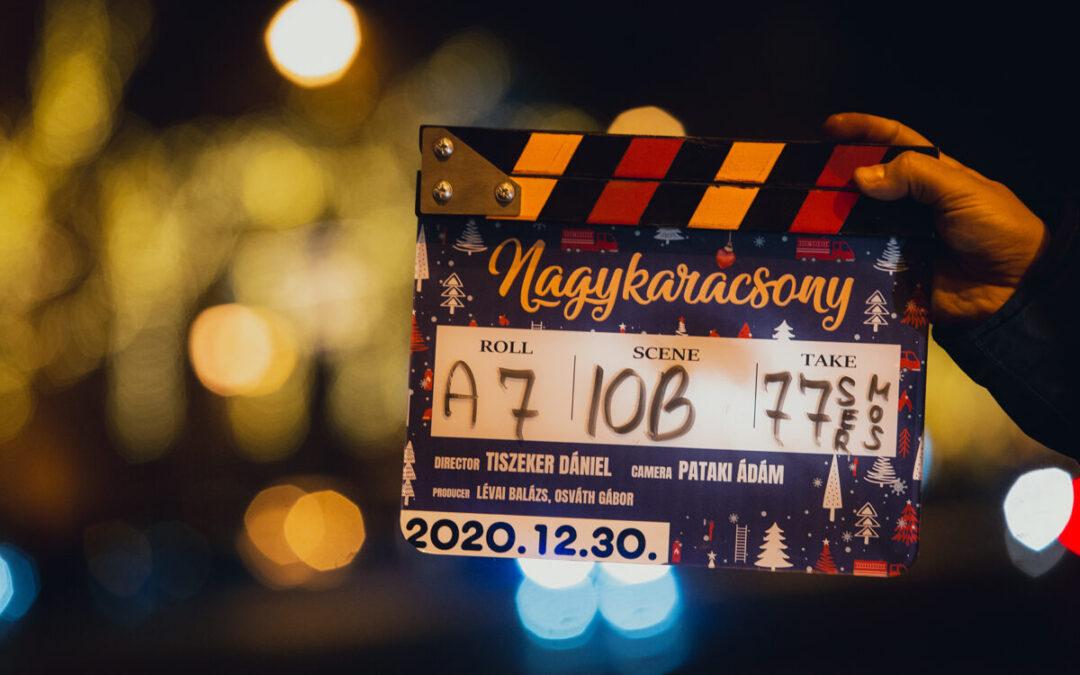 Elindul a Nagykarácsony magyar film forgatása