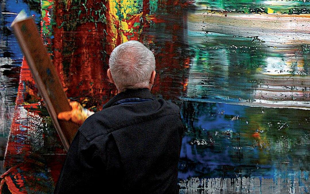 Gerhard Richter, a festő (Gerhard Richter painting) 2011